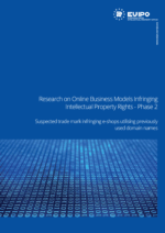 EUIPO - Research on Online Business Models Infringing IP Rights - Phase 2 - Frontcover