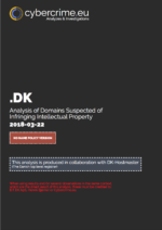 .DK Cover 22 Match 2018 - Analysis of Domains Suspected of Infringing Intellectual Property